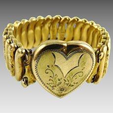 Vintage Sweetheart Expansion Bracelet