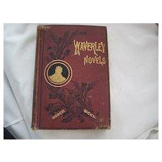 "Scottish c 1882 Sir Walter Scott's ""Waverley Novels"" w/Illustrations"