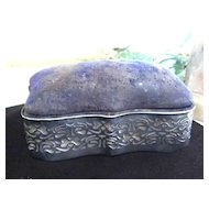 REDUCED: Silver 1903 Art Nouveau Horton & Allday Jewelry Casket