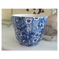 Vibrant Staffordshire Transferware James Kent Pot