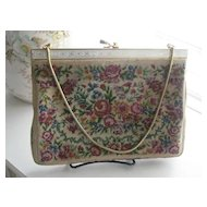 Beautiful Vintage Needlepoint Purse
