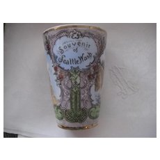 REDUCED:  SEATTLE American Indian Historical Souvenir Cup