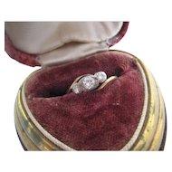 Vintage 18ct Diamond Ring, Size 7.5