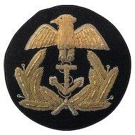Naval Bullion Badge
