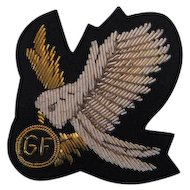 1970s Gulf Airlines Bullion Pilot's Badge