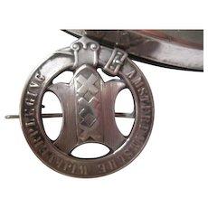 Late 1800s Dutch (Amsterdam) Nurse's Pin