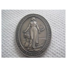 Stunning Large Baker's Award - English Hallmarked Silver
