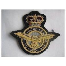 British Royal Air Force (RAF) Bullion Badge