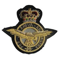 British Royal Air Force (RAF) Bullion Badge