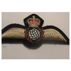 Vintage British Royal Air Force (RAF) Patch