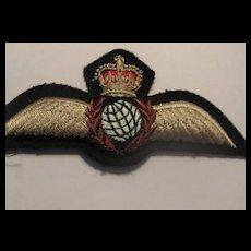 Vintage British Royal Air Force (RAF) Patch