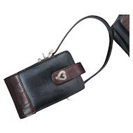 Brighton Leather Telephone Case (Flip Phone)