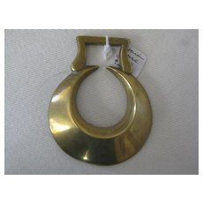 Victorian Horse Brass - Original Half Moon shape