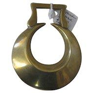 Victorian Horse Brass - Original Half Moon shape