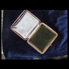 Early 1900s COLWYN BAY Ireland, Jewelry Case