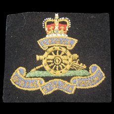 British Royal Artillery Patch