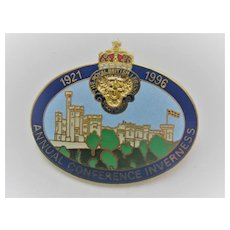 c1996 INVERNESS Royal British Legion Badge