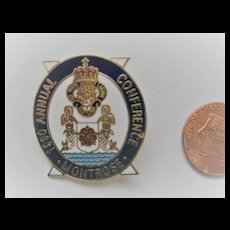 c1990 MONTROSE Royal British Legion Badge