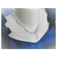 Early 1900s English Moonstone/GF Necklace