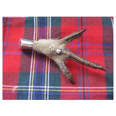 Traditional Scottish Antique Grouse Claw