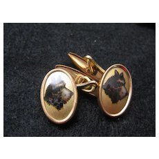 Vintage Dog Head Cufflinks