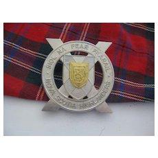 Vintage NOVA SCOTIA Highlanders Badge