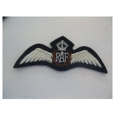 Royal Air Force (RAF) Wings (white)
