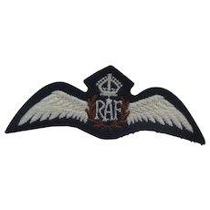 Royal Air Force (RAF) Wings (white)