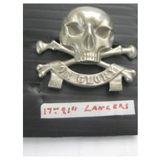 Vintage British LANCERS Badge