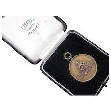 Vintage Royal Artillery Runners Medal/Box
