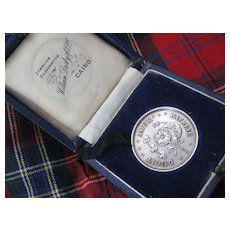 Ducit Amor Patriae Medal (Cairo,Egypt) in Orig Box