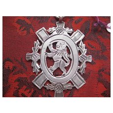 Early 1900s Scottish Hallmarked Medal