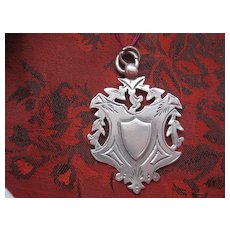 REDUCED C1912 Antique English Silver Medal