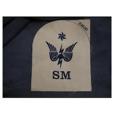 Militaria Fabric Patch