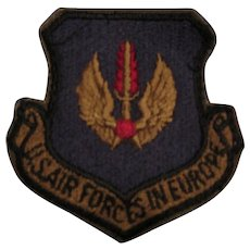 "Vintage ""US Air Forces in Europe"" Patch"