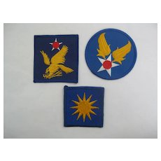 SET OF 3... U.S,. Military Patches