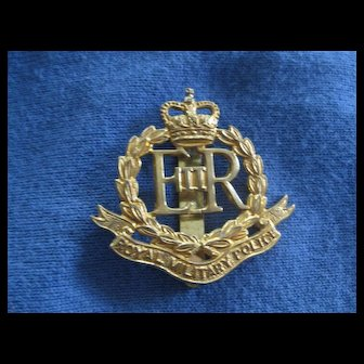 Vintage Royal Military Police Badge