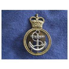 Vintage British Naval Badge