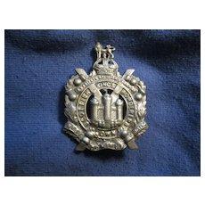 Vintage King's Own Scottish Borderers Badge