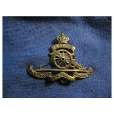 Vintage British Royal Engineers Badge