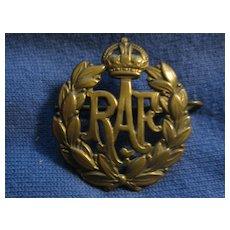 Vintage Royal Air Force (RAF) Badge