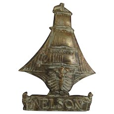 WW1 Royal Naval NELSON Battalion Badge