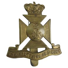 Victorian Wilstshire Regimental Badge