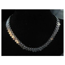 Stunning Antique English Silver Collar Necklace ONLY
