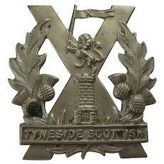 British Vintage Tyneside Scottish Badge - No pin