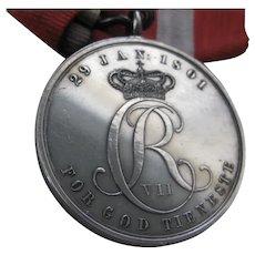 Danish - Christian V11 Medal c1801