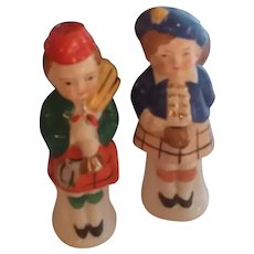 Vintage Scottish Salt & Pepper Set