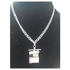 Antique Silver Fraternal Award on English HM Chain