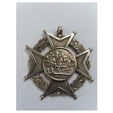 Large Runner's Silver Medal, Birmingham c1874