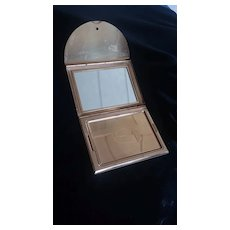 Vintage COTY Gold Colored Compact